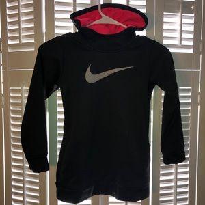 Nike girls sparkle hoodie LG 7-8